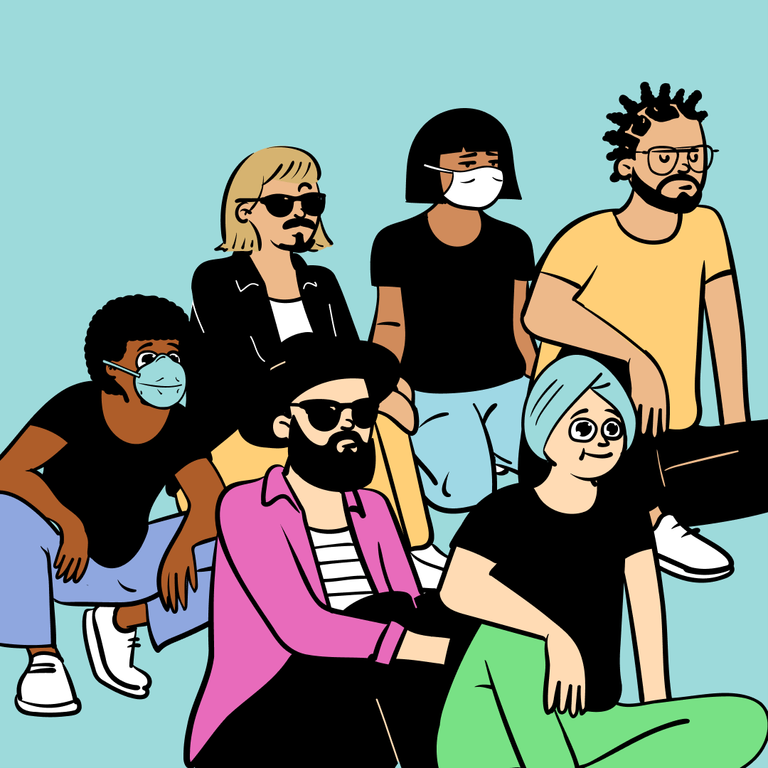 Happy Bunch by @pablostanley