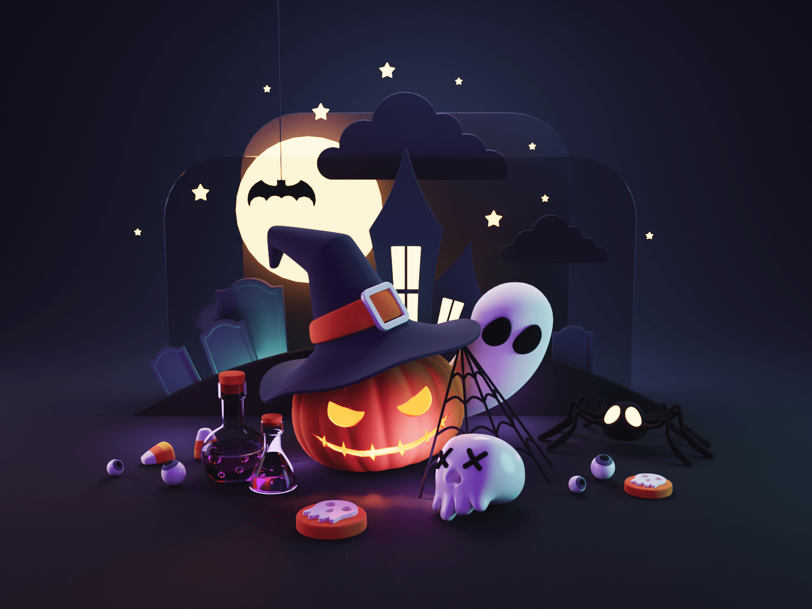 Trick or Treat! by Roman Kl�o