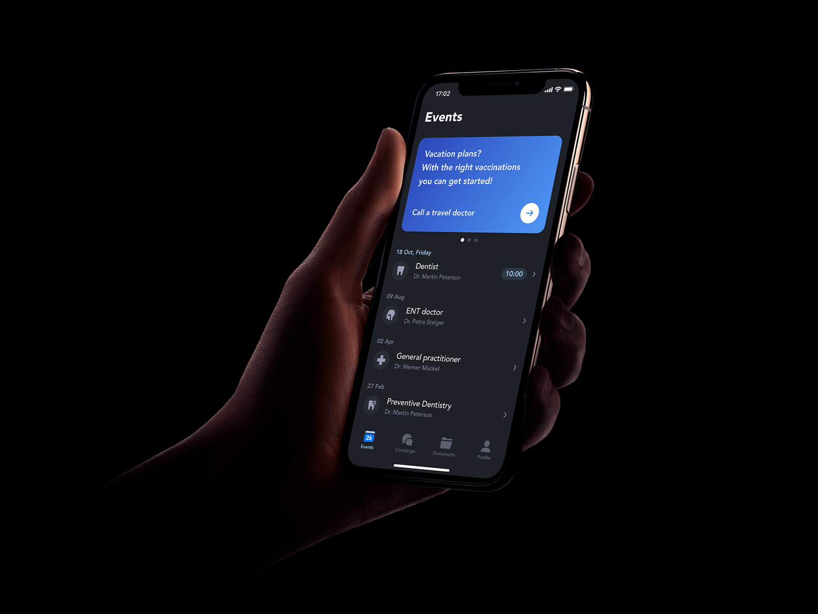 Dark mode exploration 🌑 by Andreas Storm